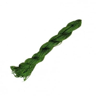 Шнур полиестер 1 мм зелен маслинен ~23 метра