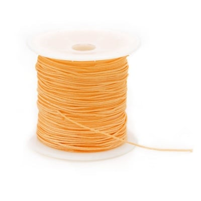 Шнур полиестер 1 мм оранжев ~10 метра
