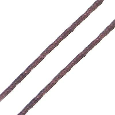 Шнур полиестер 0.8 мм кафяв -7~9 метра