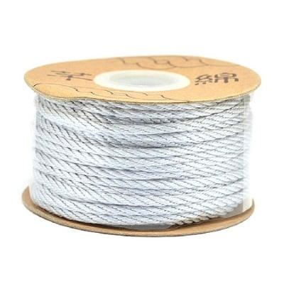 Шнур полиестер 2 мм сив -5 метра