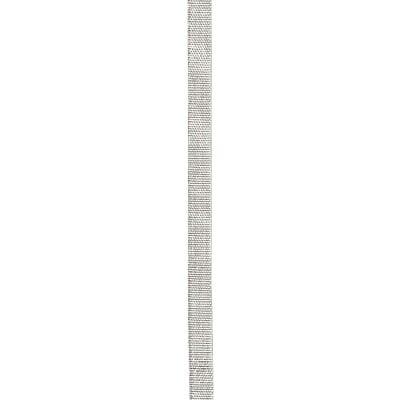 Лента ламе 8 мм цвят сребро -5 метра