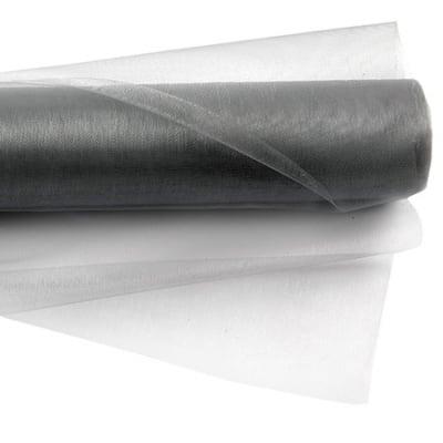 Органза 48x450 см сива