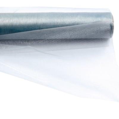 Органза 48x450 см синя