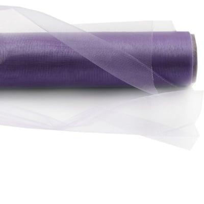 Органза 48x420 см лилава