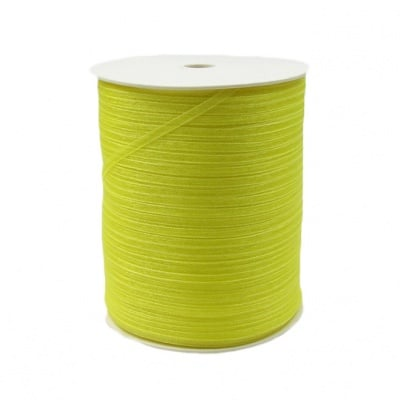 Ширит Органза 3 мм жълта -810 метра