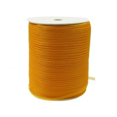 Ширит Органза 3 мм оранжева -810 метра