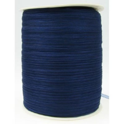 Ширит Органза 3 мм синя тъмно -810 метра