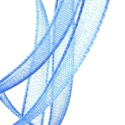 Ширит Органза 3 мм синя -810 метра