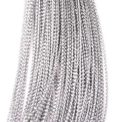 Ламе 0.8 мм сребро -100 метра