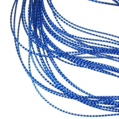 Ламе 0.8 мм синьо -100 метра