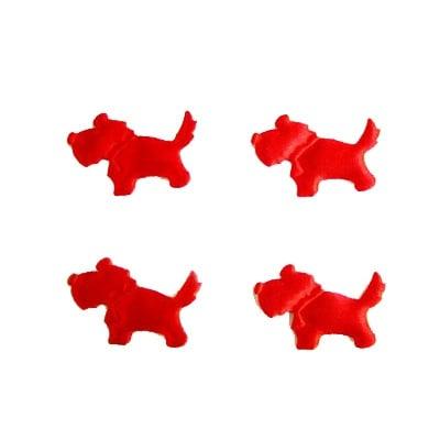 Куче 25мм. червено -50бр.