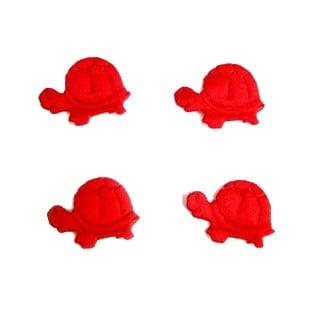 Костенурка 20мм. червена -50бр.