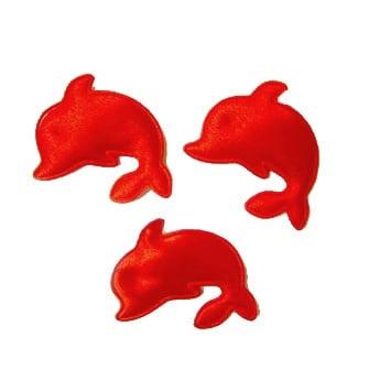 Делфин 30мм.червен -50бр.