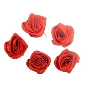 Роза 20 мм червена -50 броя