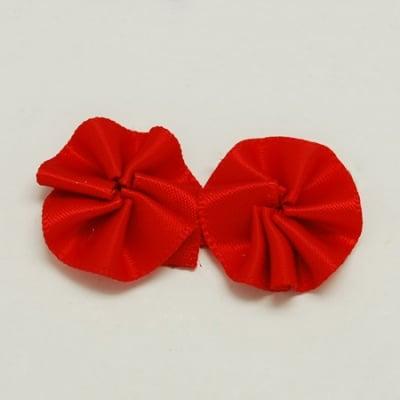 Цвете 20x6 мм червено -10 броя