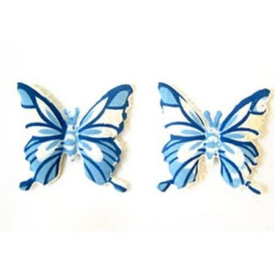 Пеперуда синя 40мм. -10бр.