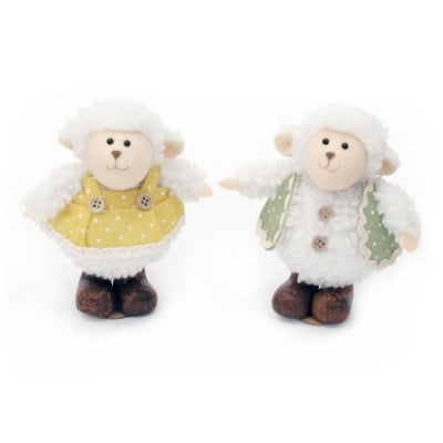 Кукла овца 125x80 мм -МИКС
