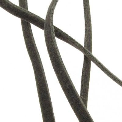 Лента велур 2.5 мм сива -10 броя x 1 метър