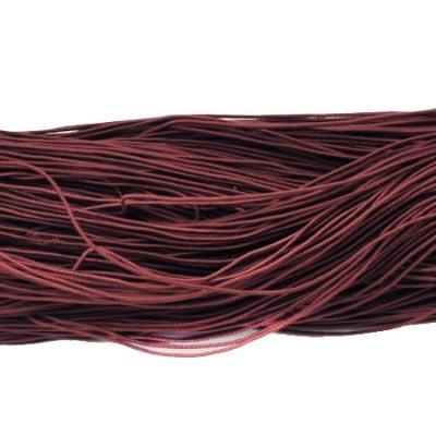 Ластик 1мм кафяв тъмен ~22 метра