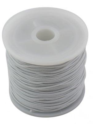 Ластик 1 мм бял ~19 метра
