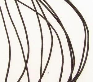 Ластик 0.6 мм 1-во кафяв ~27 метра