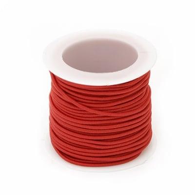 Ластик 1.5 мм червен -10 метра