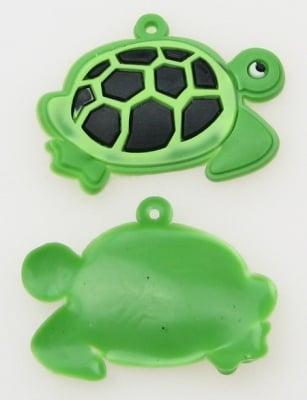 Фигурка гумена костенурка 30 мм -10 броя