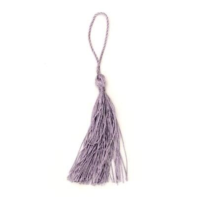 Пискюл текстил 135 мм цвят лилав светъл