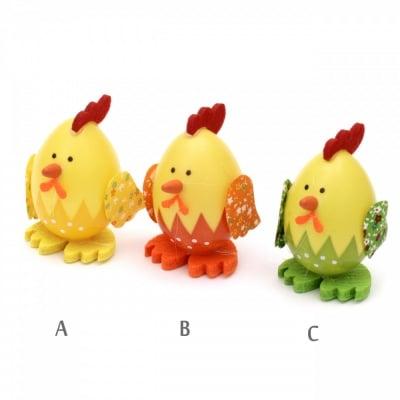Комплект яйца пиленца 75х45 мм за декорация -3 броя