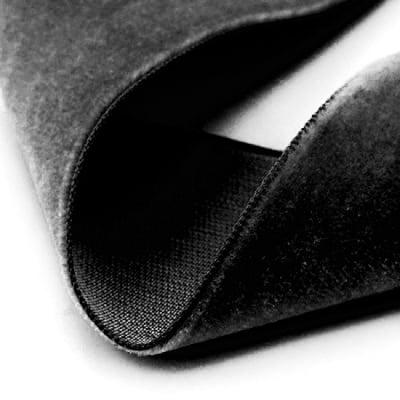 Лента кадифе 10мм черна -3 метра