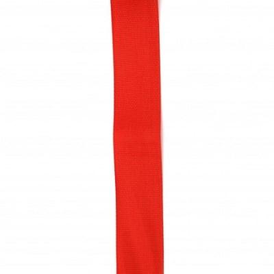 Ширит сатен 25 мм рипс червен -2 метра