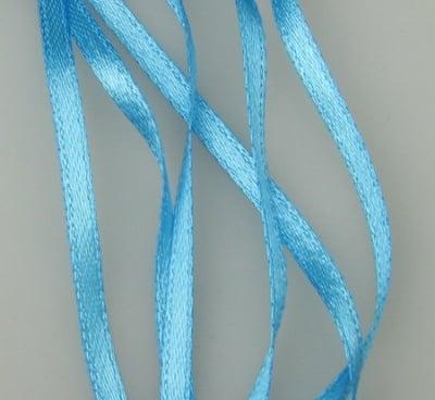 Ширит Сатен 3 мм син -10 метра