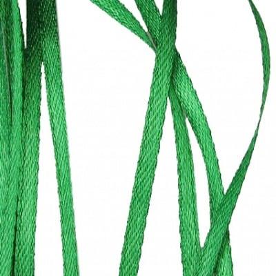 Ширит Сатен 3 мм зелен -10 метра
