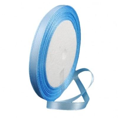 Ширит cатен 6 мм син светло ~22 метра