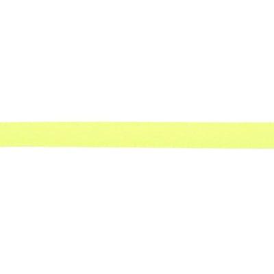 Ширит cатен 6 мм жълт електрик ~22 метра