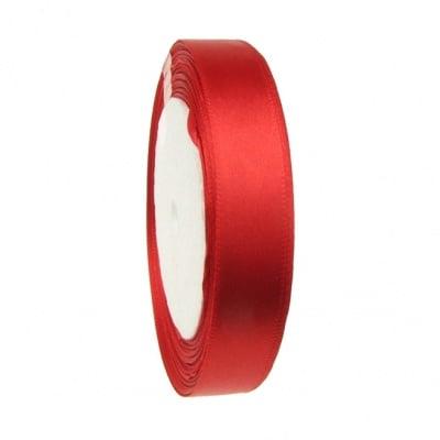 Ширит cатен 16 мм червен ~22 метра
