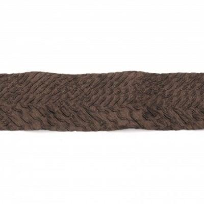 Лента полиестер креп 40 мм кафява -1 метър
