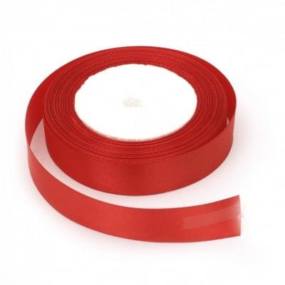 Лента сатен 20 мм червен ~22 метра