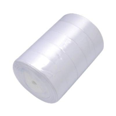 Ширит cатен 40 мм бял ~22 метра