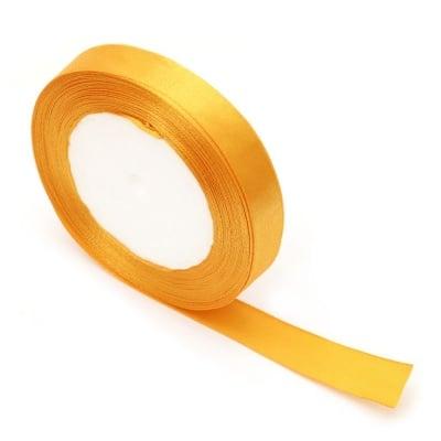 Ширит сатен 16 мм оранжев -22 метра