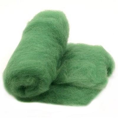 ВЪЛНА 100 % Филц за нетъкан текстил 700х600 мм екстра качество зелена-50 грама