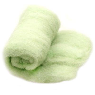 ВЪЛНА Филц мерино за нетъкан текстил резеда-50 грама