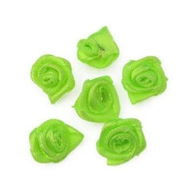 Роза 11 мм зелена електрик -50 броя