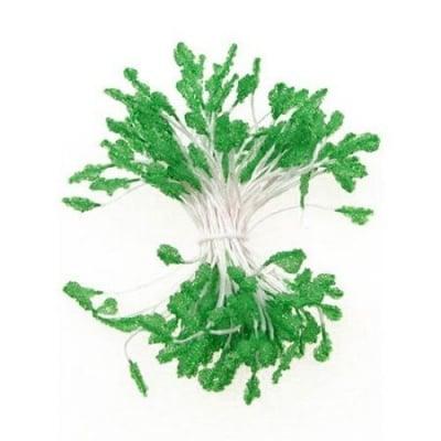 Тичинки тип захарни двустранни 3x7x61 мм зелени ~170 бр