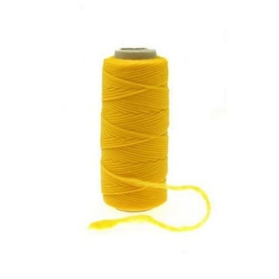 Полиестерен конец 0.2~0.4 мм жълт макара ~5 грама