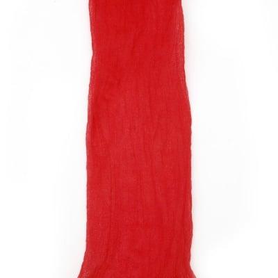 Полиестерен ръкав за найлонови цветя /тип чорапогащник/ червен тъмен -пакет 5 бр.