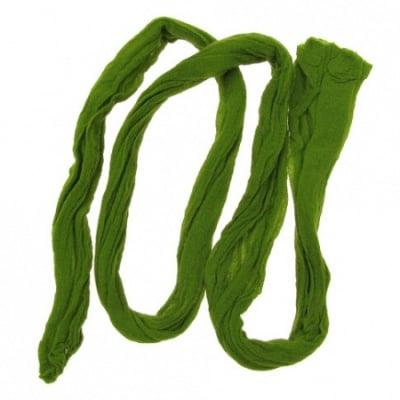 Полиестерен ръкав за найлонови цветя /тип чорапогащник/ зелен светъл -5 броя