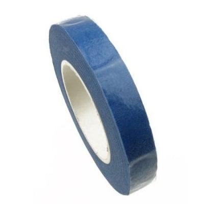 Тиксо цветарско от креп 13 мм синьо ~28 метра