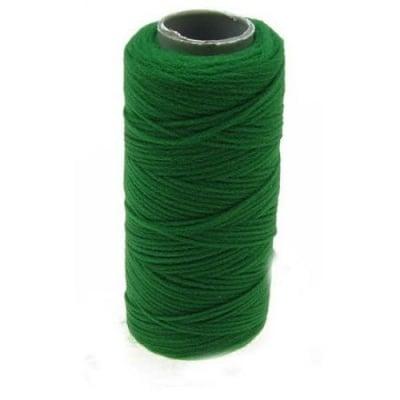 Полиестерен конец 0.2~0.4 мм зелен макара ~ 5 грама