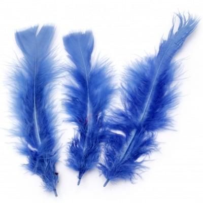 Перо 120~170x35~40 мм синьо тъмно -10 броя